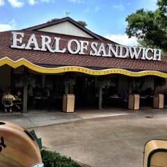 Photo taken at Earl of Sandwich by Justin V. on 4/15/2012