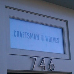 Photo taken at Craftsman and Wolves by Daniel S. on 7/7/2012