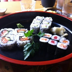 Photo taken at Tsuru Sushi all'Osteria by Mariella T. on 7/7/2012