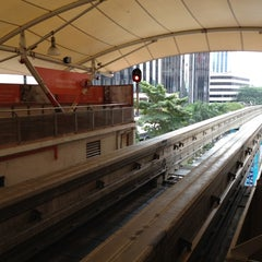Photo taken at RapidKL Imbi (MR5) Monorail Station by Mighty B. on 5/29/2012