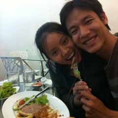 Photo taken at Bit Tet TiTi French Restaurant by Nam L. on 6/3/2012