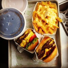 Photo taken at Shake Shack by Gregory N. on 9/2/2012