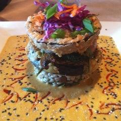Photo taken at VSPOT Vegan Cafe by Brooke P. on 3/2/2012