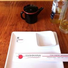 Photo taken at Sushihana by Claudio F. on 8/17/2012