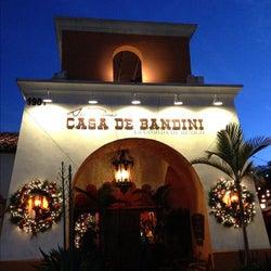 Casa De Bandini corkage fee