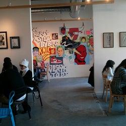 Voltage Coffee & Art corkage fee