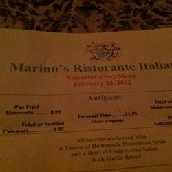 Marino's Ristorante Italiano corkage fee