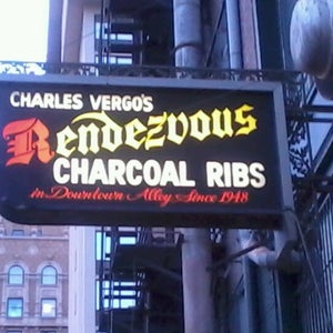 Charles Vergos Rendezvous Charcoal Ribs