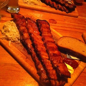 RIBS Of Vienna Steaks & Spareribs