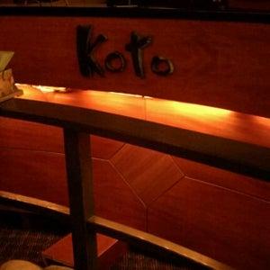 Koto Japanese Steak House