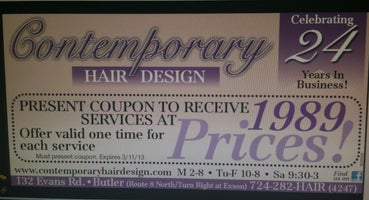 Contemporary Hair Design
