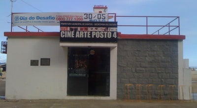 Photo of Indie Movie Theater Cine Arte Posto 4 at Av. Vicente De Carvalho, Santos 11045-501, Brazil