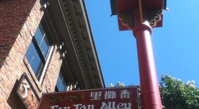 Photo of Historic Site Fan Tan Alley at In Chinatown, Victoria, BC, Canada