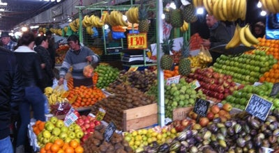 Photo of Farmers Market Vega Central at Antonia López De Bello, Recoleta, Chile