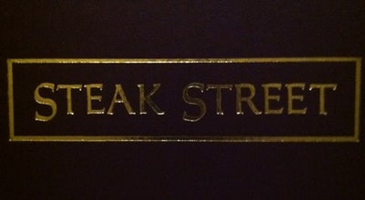Photo of Steakhouse Steak Street at 3915 Sedgebrook St, High Point, NC 27265, United States