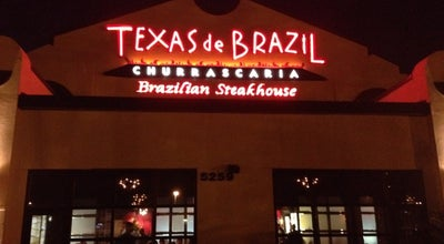 Photo of Brazilian Restaurant Texas de Brazil at 5259 International Dr, Orlando, FL 32819, United States