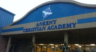 Photo of Church Ankeny Christian Academy at 1604 W 1st St, Ankeny, IA 50023, United States