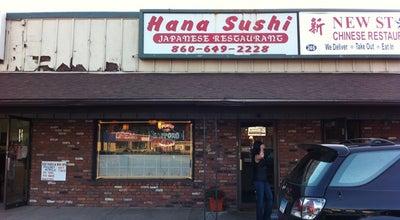 Photo of Sushi Restaurant Hana Sushi at 248 Broad St, Manchester, CT 06040, United States