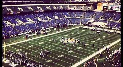Photo of Football Stadium M&T Bank Stadium at 1101 Russell St, Baltimore, MD 21230, United States