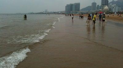Photo of Beach 石老人海水浴场 Stone Man Bathing Beach at Haikou Rd., Qingdao, Sh, China