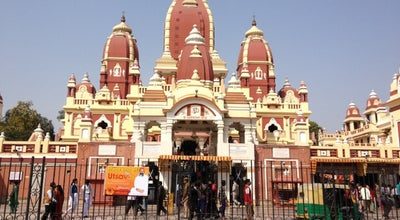 Photo of Hindu Temple Laxmi Narayan Temple (Birla Mandir) at Mandir Marg, New Delhi, India