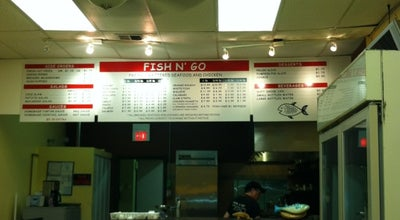 Photo of Seafood Restaurant Fish N Go at 4749 N Pulaski Rd, Chicago, IL 60630, United States