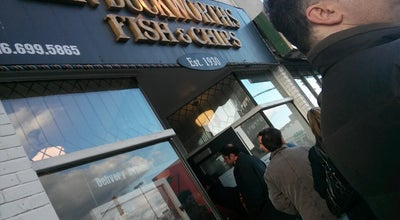 Photo of Fish and Chips Shop Duckworth's Fish and Chips at 2638 Danforth Ave., Toronto, ON M4C 1L7, Canada