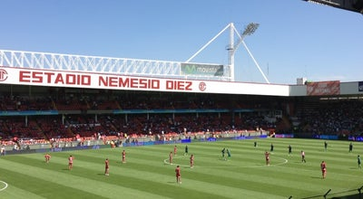 Photo of Soccer Stadium Estadio Nemesio Diez at Constituyentes 1000, Toluca de Lerdo 50080, Mexico