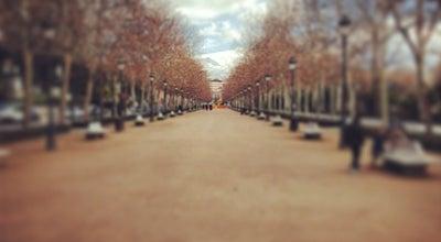 Photo of Park Paseo del Salón at Plaza Humilladero, Granada 18005, Spain
