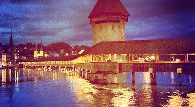 Photo of Bridge Kapellbrücke at Kapellbrücke, Luzern 6004, Switzerland