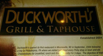 Photo of American Restaurant Duckworth's Grill & Taphouse at 16609 Statesville Rd, Huntersville, NC 28078, United States