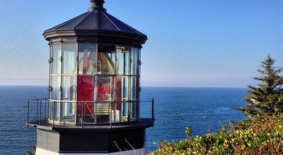 Photo of Lighthouse Cape Meares Lighthouse at Cape Meares Lighthouse Dr, Cape Meares, OR, United States