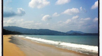 Photo of Beach หาดลายัน (Layan Beach) at Thalang 83110, Thailand
