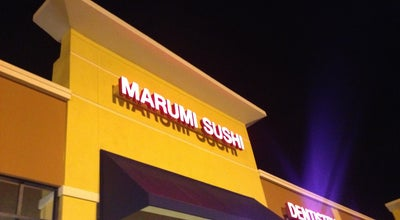 Photo of Sushi Restaurant Marumi Sushi at 8271 W Sunrise Blvd, Plantation, FL 33322, United States