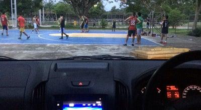 Photo of Stadium สนามกีฬาเทศบาล7 at หมู่บ้านสุขสวัสดิ์ ( ข้างโรงเรียนผู้พิการทางสายตา), ลำปาง, Thailand