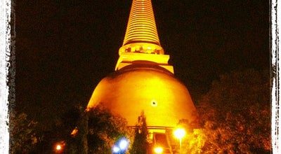 Photo of Buddhist Temple วัดพระปฐมเจดีย์ฯ (Wat Phra Pathom Chedi) at 27 Qua Phra Rd., Mueang Nakhon Pathom 73000, Thailand