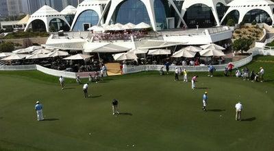 Photo of Golf Course Emirates Golf Club at Emirates Golf Club, Dubai Media City, United Arab Emirates