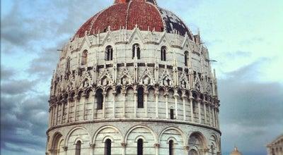 Photo of Church Battistero di San Giovanni Battista at Piazza Del Duomo, Pisa, Italy