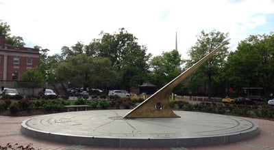 Photo of Plaza Morehead Planetarium Sundial at 250 E Franklin St, Chapel Hill, NC 27514, United States