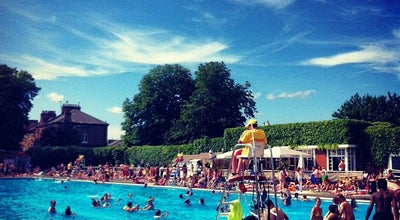 Photo of Pool Brockwell Lido at Dulwich Rd, Herne Hill SE24 0PA, United Kingdom