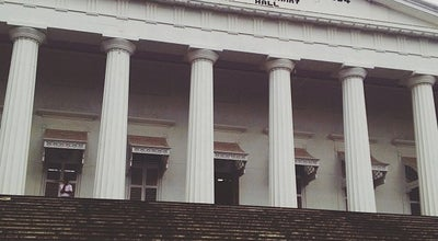 Photo of Monument / Landmark Asiatic Society Library (Town Hall) at Shahid Bhagat Singh Road, Mumbai 400001, India