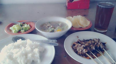 Photo of Indonesian Restaurant Sate Kambing Muda Pak Sainun at Jl Raya Warung Borong Km 12, Ciampea Bogor, Indonesia