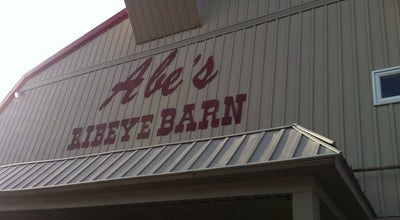 Photo of Steakhouse Abe's Ribeye Barn at 1130 Henry St, Dyersburg, TN 38024, United States