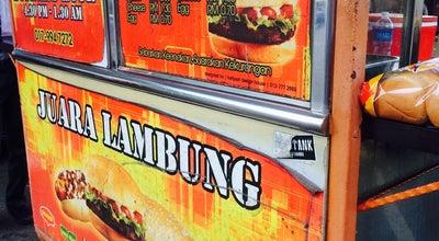 Photo of Burger Joint Bob Juara Burger Lambung at Depan Kedai Botak Je, Kulai 81000, Malaysia