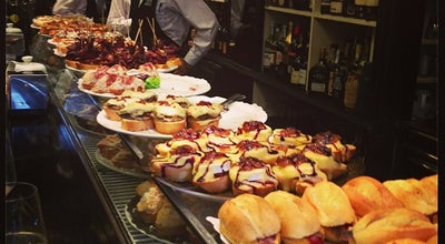 Photo of Tapas Restaurant Víctor Montes at Pl. Nueva, 8, Bilbao 40005, Spain
