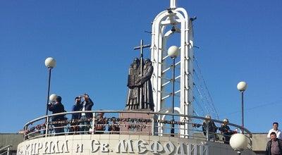Photo of Monument / Landmark Памятник Кириллу и Мефодию at Аксаковский Пер., 3а, Владивосток, Russia
