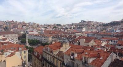 Photo of Scenic Lookout Miradouro do Elevador de Santa Justa at Portugal