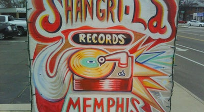 Photo of Record Shop Shangri-La Records at 1916 Madison Ave, Memphis, TN 38104, United States