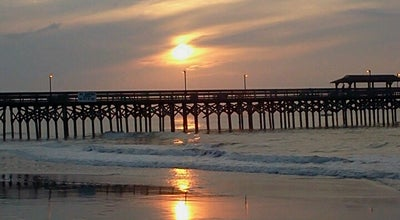 Photo of Beach Springmaid Beach at 3200 S Ocean Blvd, Myrtle Beach, SC 29577, United States
