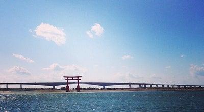 Photo of Beach 弁天島海浜公園 at 西区舞阪町弁天島3775-2, 浜松市 431-0214, Japan
